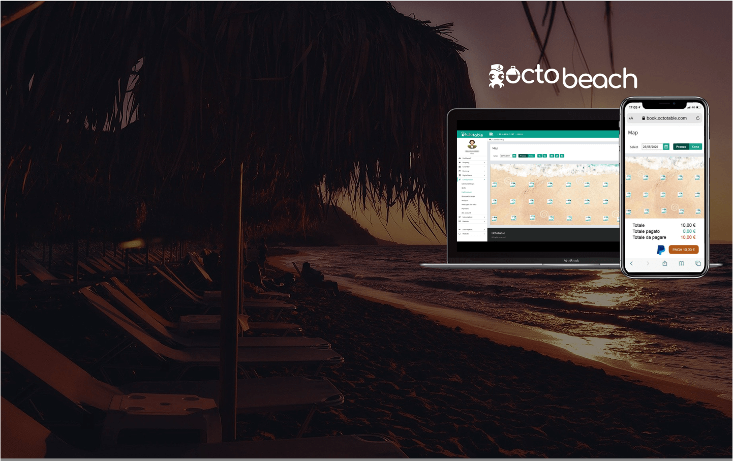 OctoBeach is the perfect booking system for your Beach Club and Bar