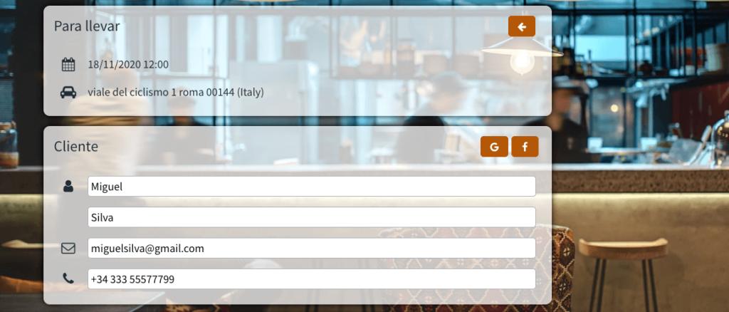 software para restaurante takeaway OctoTable
